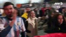 Hinchas argentinos comparten frustración de Messi con arbitraje de Copa América