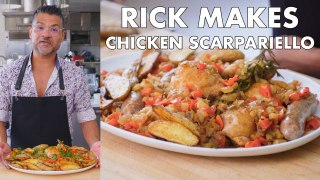 Rick Makes Chicken Scarpariello