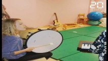 Atelier de musicothérapie dans un hôpital lillois