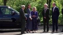 PHOTOS. Kate Middleton et Lady Di, fans des cols Lavallière