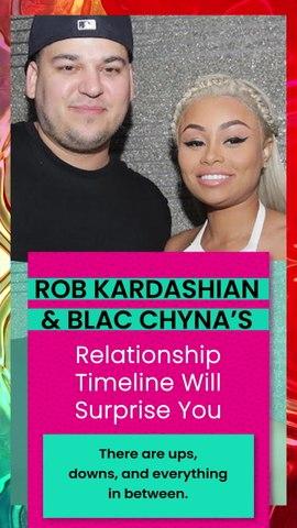 Rob Kardashian & Blac Chyna's Relationship Timeline