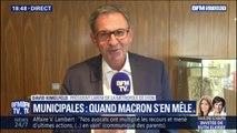 """Municipales à Lyon: David Kimelfeld """"ne souhaite pas placer le président de la République en arbitre"""""""