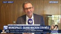 """Municipales à Lyon: """"Gérard Collomb ne demande pas d'investiture, j'ai demandé une investiture LaREM"""" (David Kimelfeld)"""