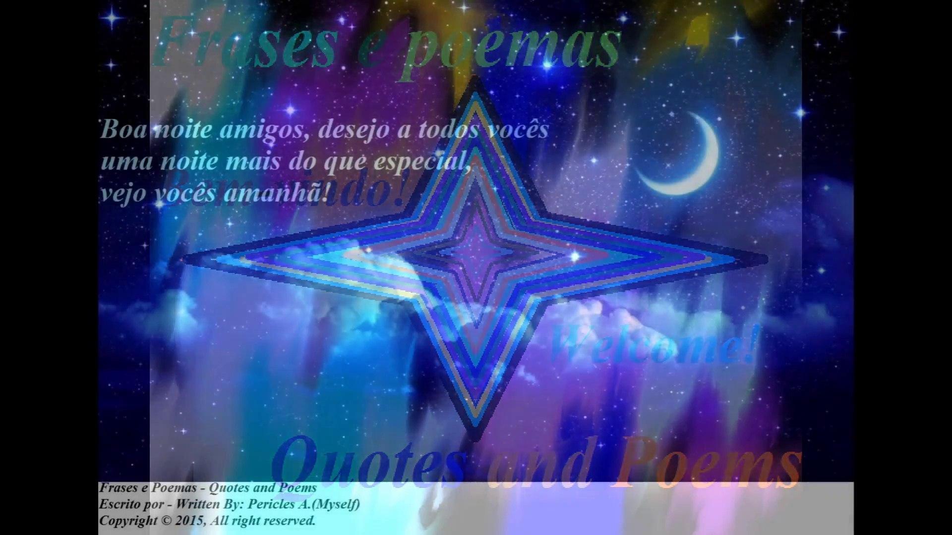 Boa Noite Amigos Desejo A Todos Vocês Uma Noite Especial Mensagem Frases E Poemas