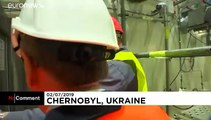 Watch New structure built to confine Chernobyl reactor