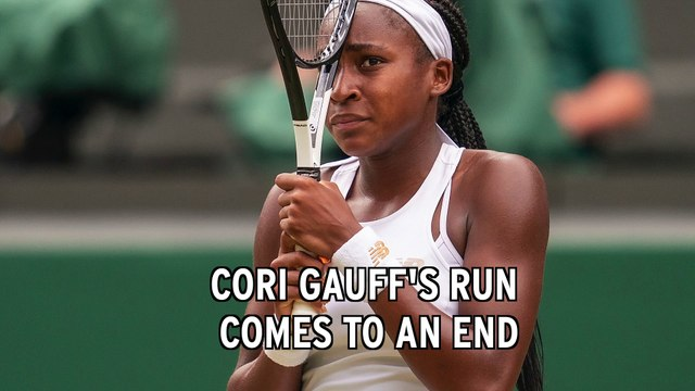 Coco Gauff Loses At Wimbledon As Fairy Tale Run Ends