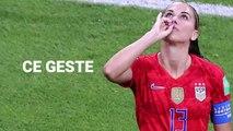 Mondial féminin Alex Morgan explique sa célébration contre les Anglaises