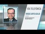 La SSC busca que la Policía Federal negocie sin sus abogados y a puerta cerrada: Enrique Carpizo