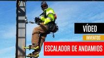 [CH] El escalador de andamios que usan los albañiles americanos
