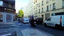 Le quotidien des deux roues rue Lally Tollendal - Paris 19e