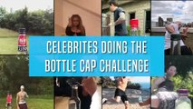 Celebs Doing The Bottle Cap Challenge