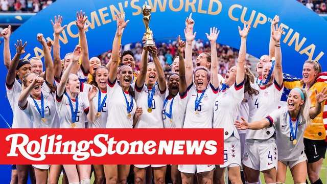 """U.S. Women's Team Wins World Cup, and Fans Chant """"Fuck Trump"""" on Fox News 