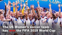 US National Women's Team Wins 2019 Women's World Cup