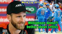 World Cup 2019   Critics calling India favourites doesn't bother Williamson