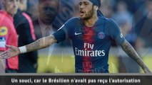 PSG - Neymar absent et sanctionné