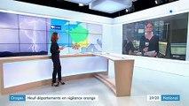 Intempéries : neuf départements du Sud-Ouest placés en vigilance orange