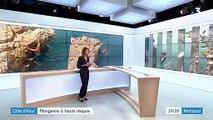 Côte d'Azur : certains baigneurs imprudents tentent des plongeons à haut risque