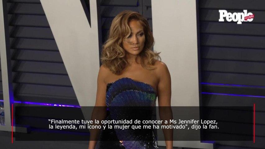 ¿Dos JLO? Doble de JLO conoce a Jennifer López por primera vez. ¡Mira la foto!
