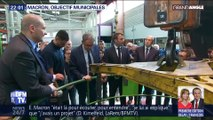 Emmanuel Macron, objectif municipales