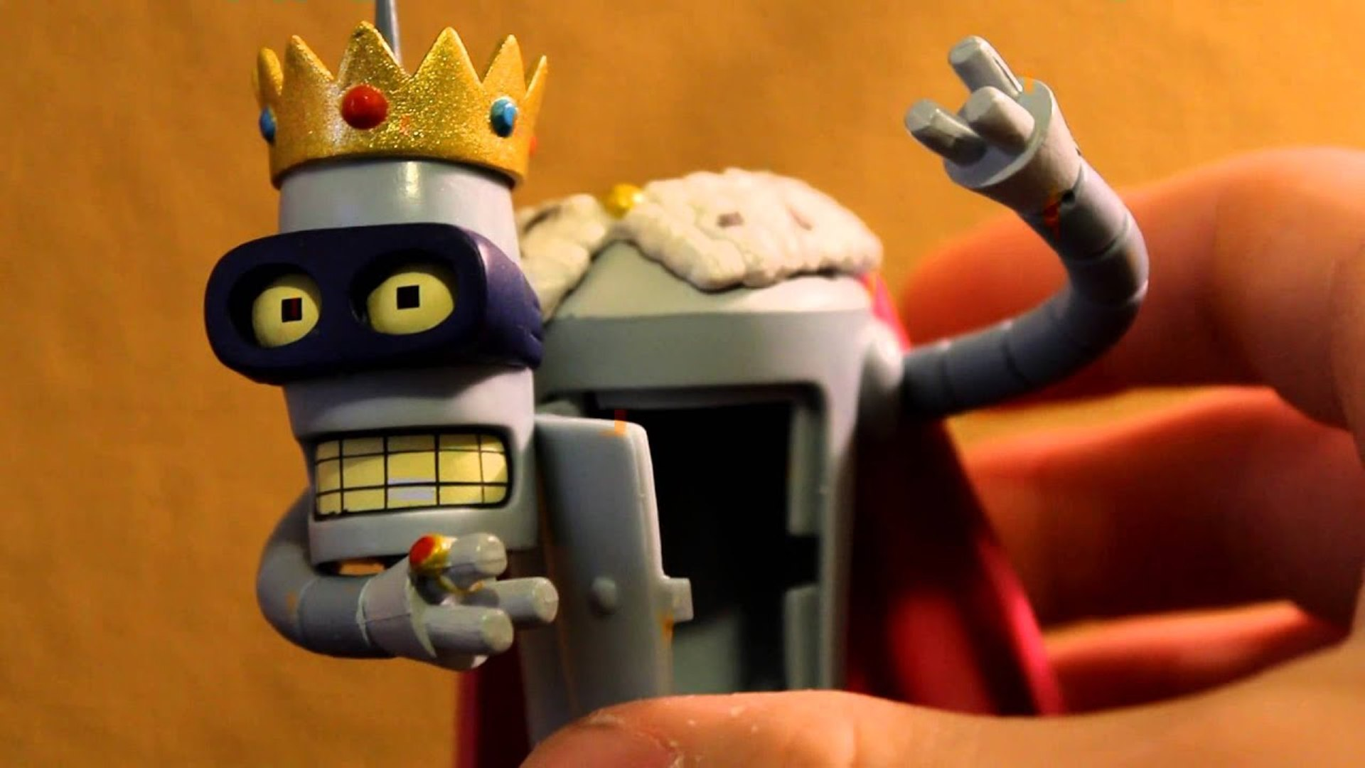 Toys For Kids  - FUTURAMA SUPER KING- (Bender) Figure Review