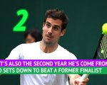 Wimbledon Stat of the Day - Pella the comeback king
