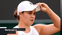 Ashleigh Barty defeated at Wimbledon