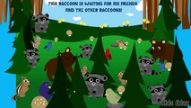 Learning Animals and Plants In The Forest For Kids, Flashcards, Find   Count, Educational Baby