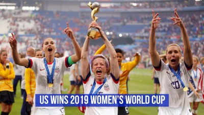 USA Women's Soccer Takes The World Cup Again
