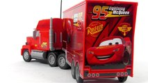 Disney Pixar Cars2 Toys - RC Turbo Mack Truck Toy Video Review
