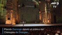 """Una """"noche española"""" con Plácido Domingo en Francia"""