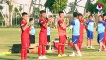 U23 Việt Nam hứng khởi trong ngày đầu tập luyện tại PVF | VFF Channel
