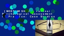 [MOST WISHED]  Forensic Psychological Assessment in Practice: Case Studies