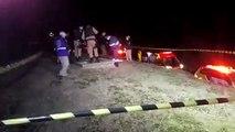 Homem morre ao sofrer descarga elétrica às margens da PR-486