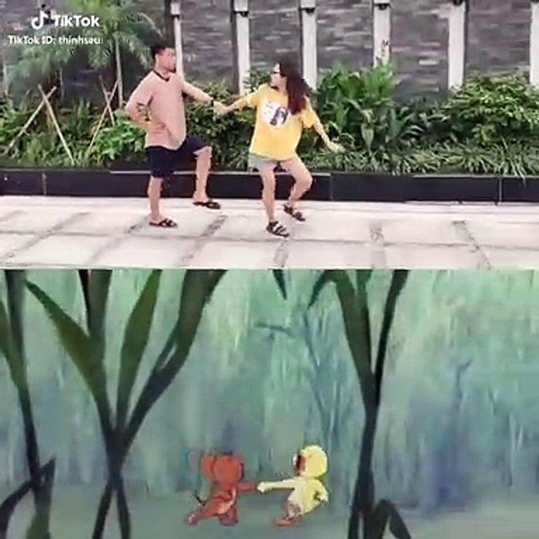 Hết cover hát, nhảy, giới trẻ lại chuyển qua cover phim hoạt hình Tom&Jerry