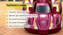 Majorette Toys - Avengers Iron Man Thunder Racer RC Car Toy Review