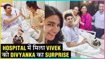Divyanka Tripathi And Vivek Dahiya 3rd Anniversary Celebration In Hospital