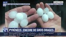 Les images du déluge de grêle qui s'est abattu dans les Pyrénées et en Ariège