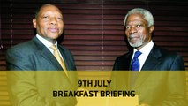Ruto declaration on 2022 | No to Waki list | More cash for Sciences: Your Breakfast Briefing