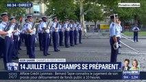 J-5 ! Les images des répétitions du défilé du 14-Juillet sur les Champs-Élysées