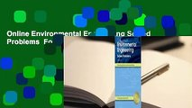 Online Environmental Engineering Solved Problems  For Online