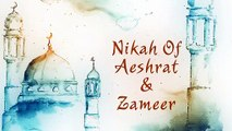 Video Invitation WD-701  Nikah Invitation  Muslim video invitation