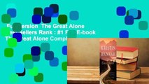 Full version  The Great Alone  Best Sellers Rank : #1 Full E-book  The Great Alone Complete