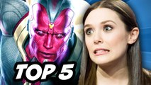 Captain America Civil War - Vision and Scarlet Witch TOP 5