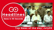 Top News Headlines of the Hour (09 July, 12:30 PM)