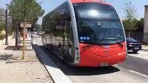 Aix : en avant-première dans le nouveau BHNS électrique