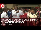 Uhuru Flags Off Safari Rally at Kasarani Stadium