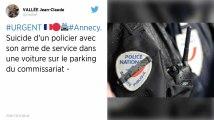 Un policier se suicide à Annecy, le 37e depuis le début de l'année en France