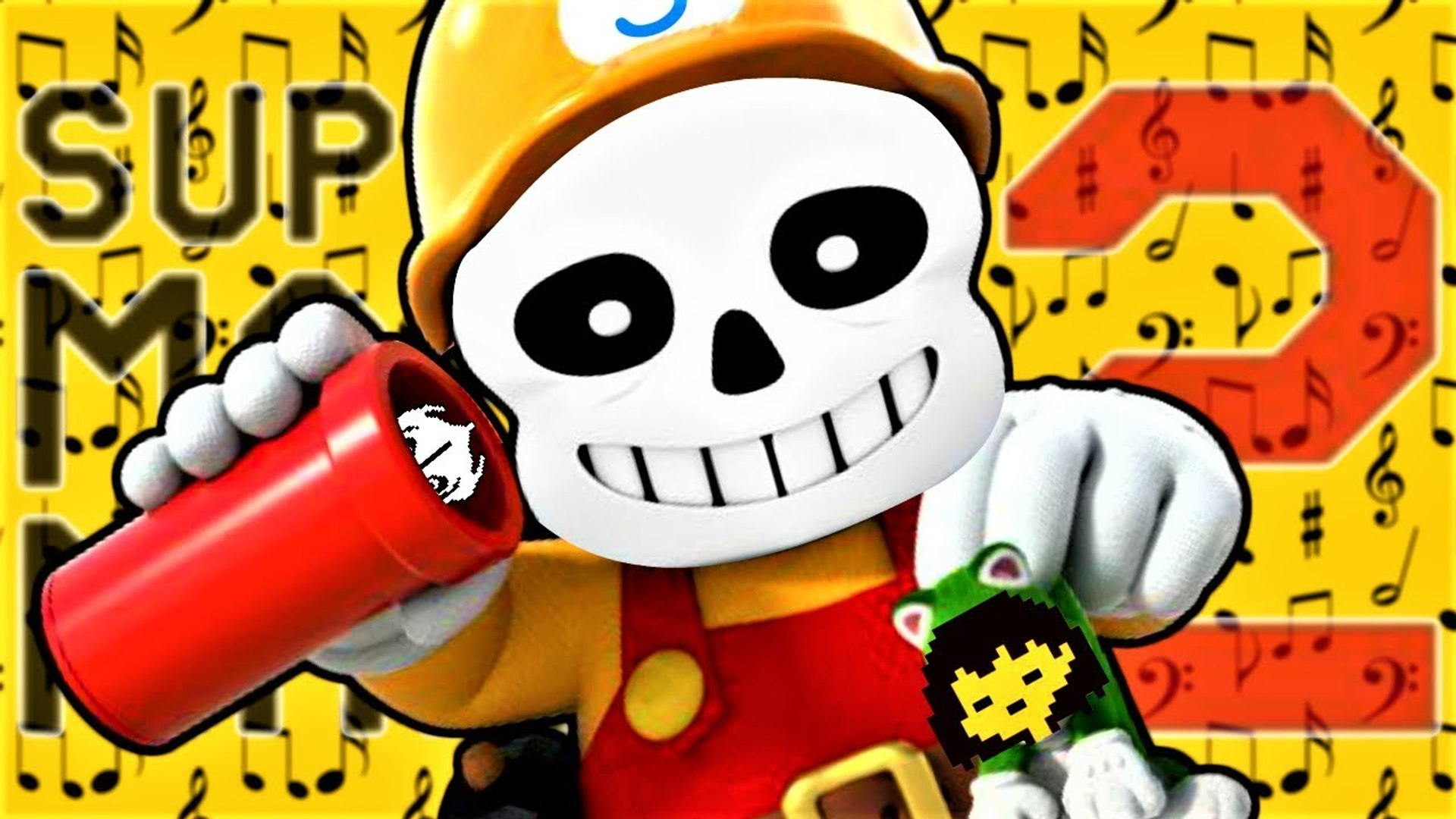 UNDERTALE MUSIC LEVELS in SUPER MARIO MAKER 2