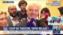"""Affaire de l'arbitrage du Crédit Lyonnais: relaxé, Stéphane Richard fait part de """"son immense soulagement"""""""