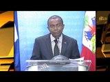Le Ministre de la Communication Rotchild Francois Jr. a rencontré la presse.